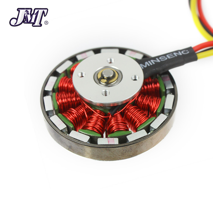 JMT <font><b>750KV</b></font> <font><b>Brushless</b></font> Disk <font><b>Motor</b></font> high Thrust With Mount For Hexacopter Quad Multi Copter Aircraft image