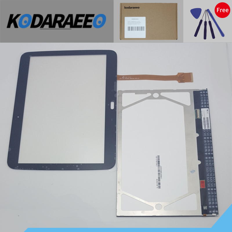 kodaraeeo Touch Screen Digitizer with LCD Display Repair Part For Samsung GALAXY Tab 2 GT-P5100 P5100 Free shipping new 10 1 inch for samsung galaxy note tab 2 10 1 p5100 p5110 lcd display touch screen digitizer assembly free shipping