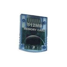 512 MB Tarjeta de Memoria Para Nintendo Wii Consola Azul 512 M de Memoria Tarjeta de Almacenamiento Guardar Ahorro Para GameCube Envío Libre
