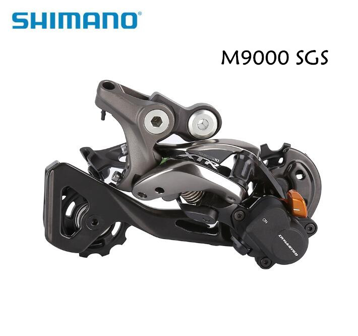 Shimano XTR M9000 Shadow+ bike bicycle 11speed Rear Derailleur RD-M9000 GS SGS nos shimano xtr front derailleur fd m961 dual pull bottom swing 34 9 new in box