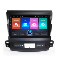 OTOJETA car dvd Android 7.1 car stereo head units touch screen multimedia player for Mitsubishi Outlander 2006~2012 navigation