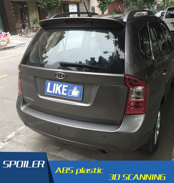 For Carens Spoiler High Quality Abs Material Car Rear Wing Primer