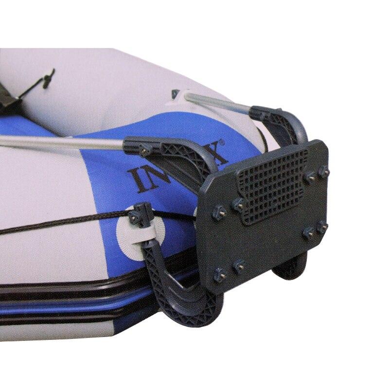 Raquette de moteur pour bateau de pêche gonflable pour moteur dans 3hp moteur kit de montage pour INTEX Challenger Excursion A09008
