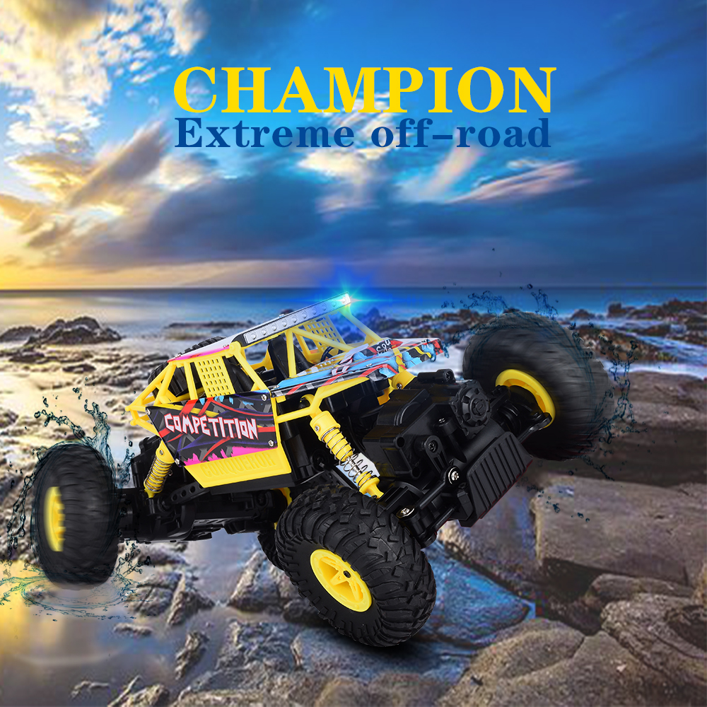 WL RC Toys Crawler Radio Control Cars Toys 1:18 Electric RC Car Machines For Boys Children Gifts VS WLtoys 12428