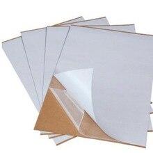 24*40 см двухсторонняя самоклеящаяся бумага, 100 шт./лот, аксессуары для поделок, двусторонняя прочная клейкая лента, двусторонняя бумага