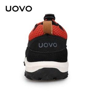 Image 4 - חדש בנים ובנות ספורט נעלי סתיו UOVO 2020 ילדי נעליים לנשימה ילדי נעלי Brethable שטוח מקרית סניקרס Eur #32 38
