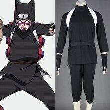 Halloween Naruto Shippuuden Kankuro Cosplay Costume XS-XXXL Men Halloween Party Costumes Tops+Pants+Hat+Strap+Belt+Gloves