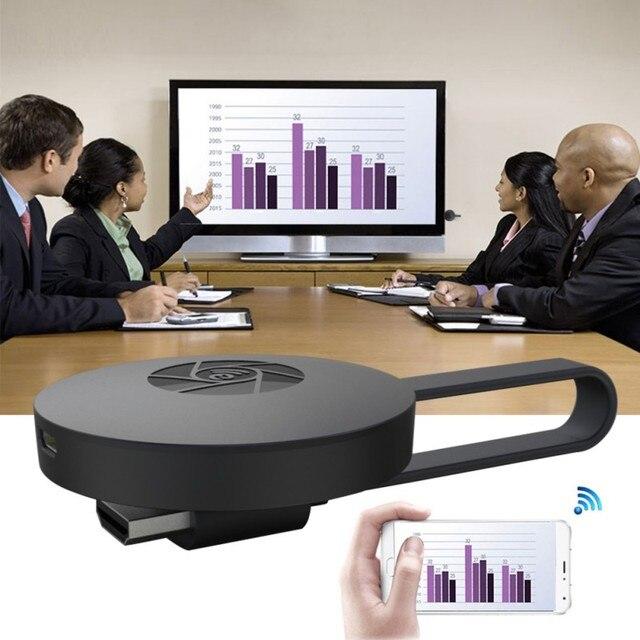 1080 P HD TV Thanh Không Dây WiFi Display TV Dongle Receiver Airplay Phương Tiện Truyền Thông Streamer Bộ Chuyển Đổi Phương Tiện Truyền Thông