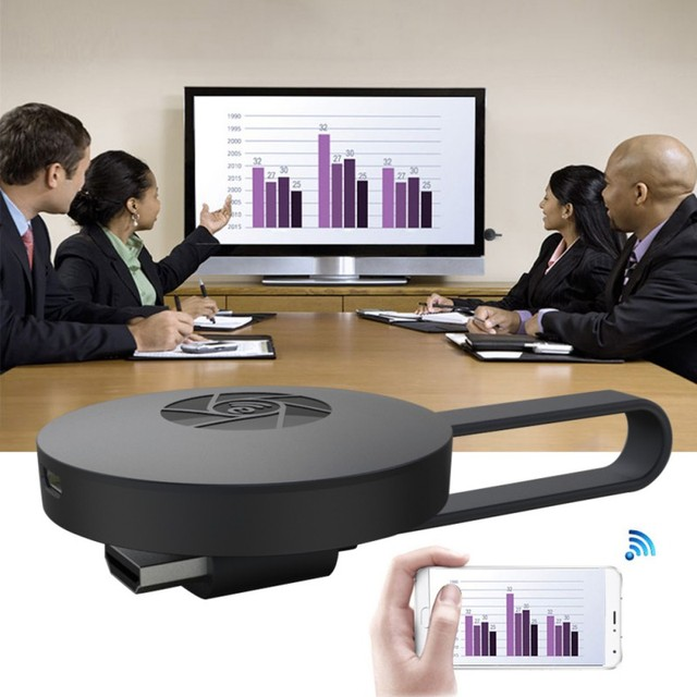 1080 P HD אלחוטי WiFi תצוגת טלוויזיה Dongle מקלט Airplay מדיה Streamer מתאם מדיה