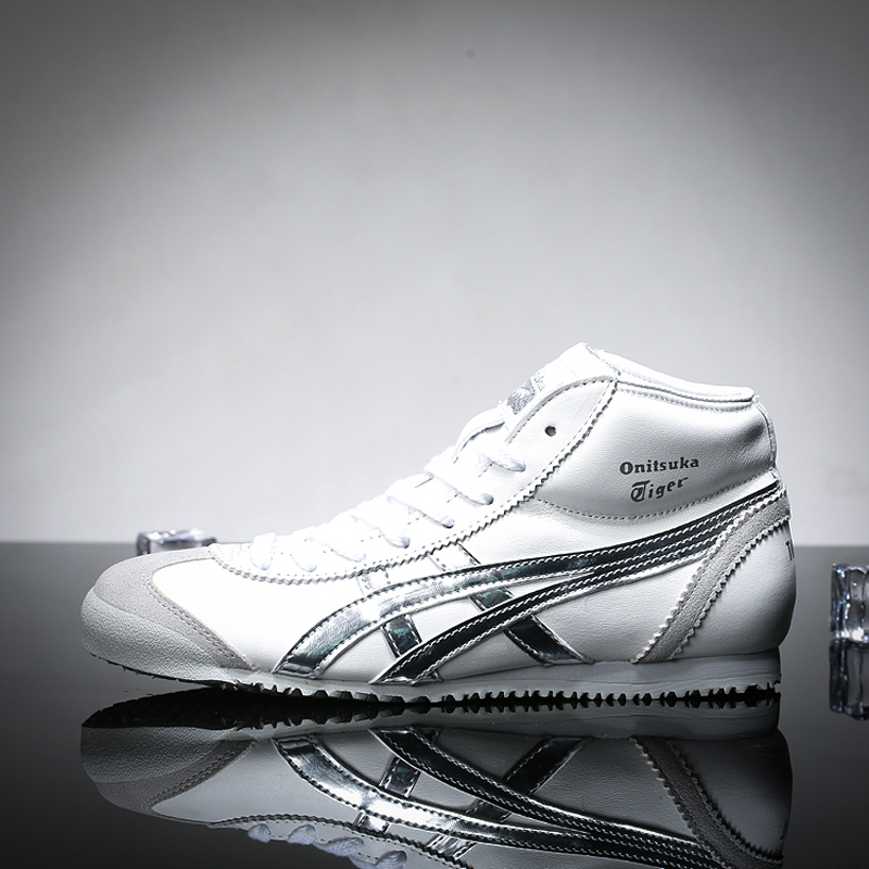 ONITSUKA TIGER MEXICO Mid Runner Leisure Classics Skateboarding Shoes Men Women Sneakers Walking Sports Shoes u2 mexico