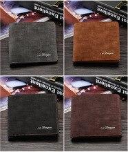 042201 Men Male Wallet Fashion Casual Style Wallet Card Holders Multi Pockets Purse for Men