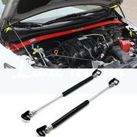 Car Styling 2PCS Hood Cover Hydraulic Rod Strut Rod Telescopic Rod Engine Cover Support For Honda Fit/Jazz 2014 2015 2016 2019