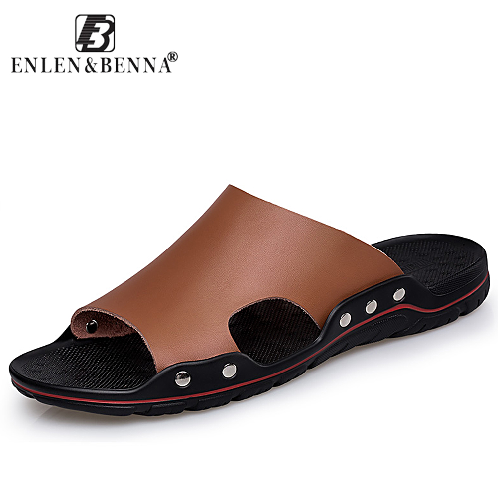 5e3b6c4d9bb Men Shoes Solid Flat Bath Slippers Summer Sandals Indoor   Outdoor Slippers  Casual Men Non-