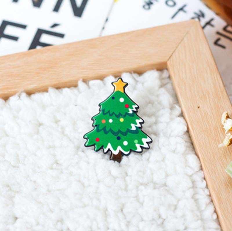 e391bc0b8da7e ... DoreenBeads Christmas Gift Acrylic Badges Pin Brooches Santa Claus  Snowman Elk Pin for Kids T Shirt