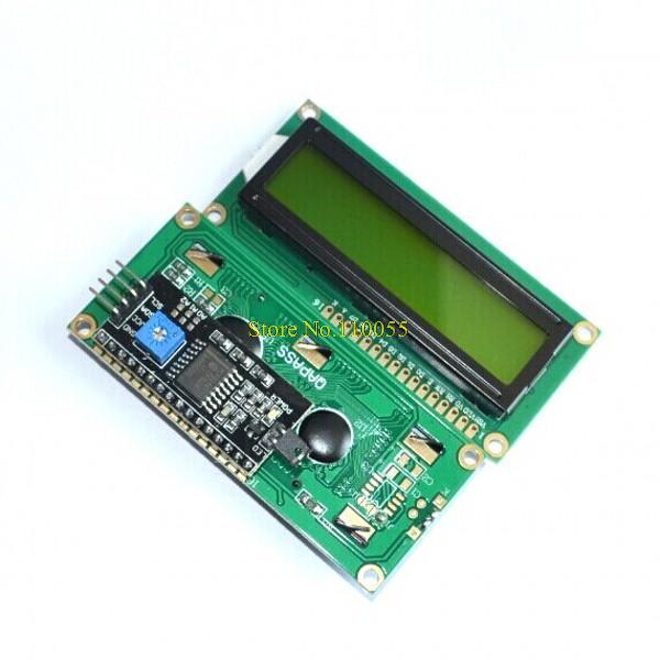 Оптоэлектронный дисплей 10 ./I2C 1602