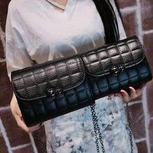 Ukqling 2017 nuevas mujeres de la manera empaqueta los bolsos de hombro mujeres bolsa de mensajero de alta calidad bolsos crossbody casuales con cadena larga