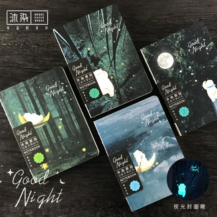 MOORE Serenade Series Notebook A5 Blank Schedule Notebook Hand-painted Graffiti Art Diary 1PCS lenwa ancient color page notebook hand painted chinese notebook illustration classical retro gift diary 1pcs