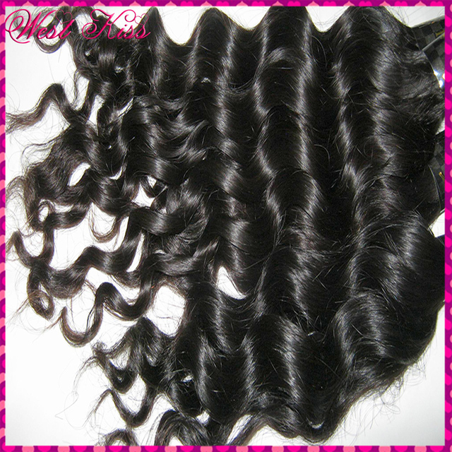 7A NEW Sale Filipino Natural Loose Deep wave Virgin hair Extensions,3pcs/lot Big Curly Twisted  Try this one!