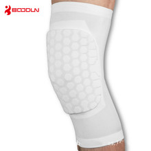 1 PCS Compression Honeycomb Knee Protector for Basketball Football Sports Anti-collision Brace Support Pads