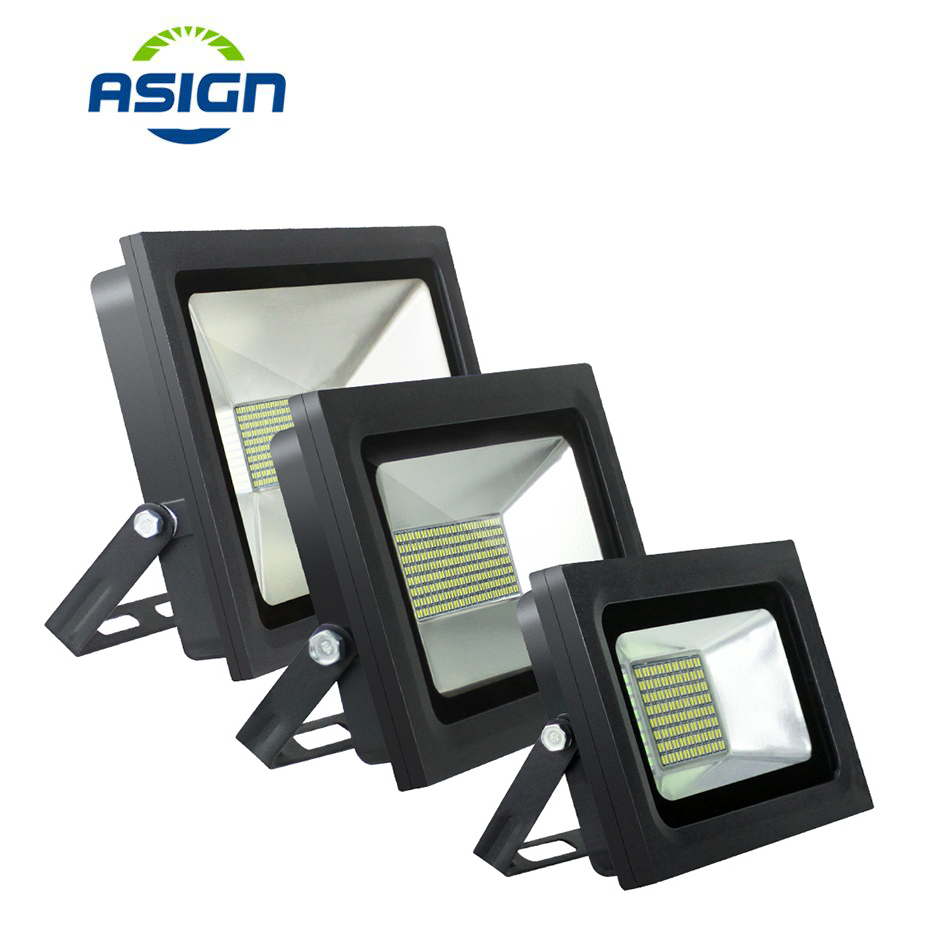 <font><b>LED</b></font> <font><b>Floodlight</b></font> 15W 30W <font><b>60W</b></font> 100W 150W 200W Outdoor Spotlight Flood Light 220V IP65 Waterproof Highway Garden Street Lighting image