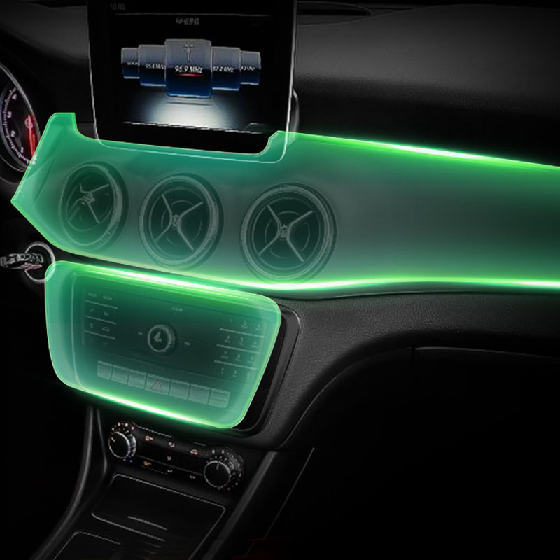 Lsrtw2017 HD film de protection intérieure de voiture TPU portable transparent pour mercedes benz gla cla classe a X156 w176 c117