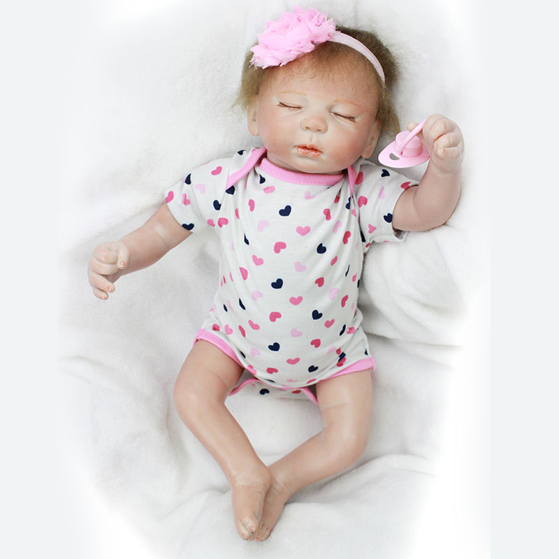 50cm Lifelike Doll Reborn Realistic Reborn Dolls Kids Toys Family House Play Toys for Children YDK-90R1 Reborn Baby Dolls Girls 2016 new 1pcs lot bedroom furnitures for barbie dolls monster hight dolls for baby girls play house toys girls baby t03022