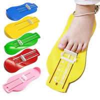 Kid Infant Foot Measure Gauge Shoes Size Measuring Baby Foot Length Measure Fittings Ruler Tool Care Products Socks Accessories