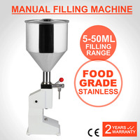 Manual Filling Machine Remplissage Filling 5-50ML Stainless