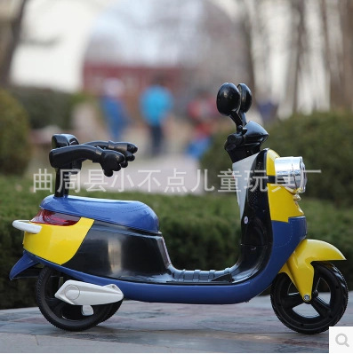 Free Shipping 75days new small yellow children electric car three wheel motorcycle can sit baby stroller and child battery car in Ride On Cars from Toys Hobbies