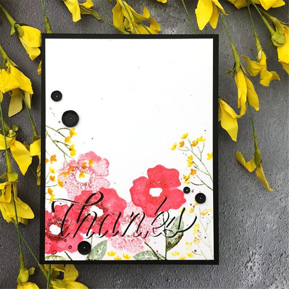 DIY Hollow Flower Tree Cutting Die Stencil Scrapbooking Embossing Machine Gift