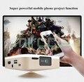 SOOALL D5S D5 upgrade AnZhuoYun portable micro 3 d projectors hd smart TV
