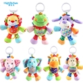 Hot Soft Animals Lion Activity Baby Bed Pram Hanging Musical Toys Rattle Baby Stroller Toy Infant Gifts Plush Educational Toy