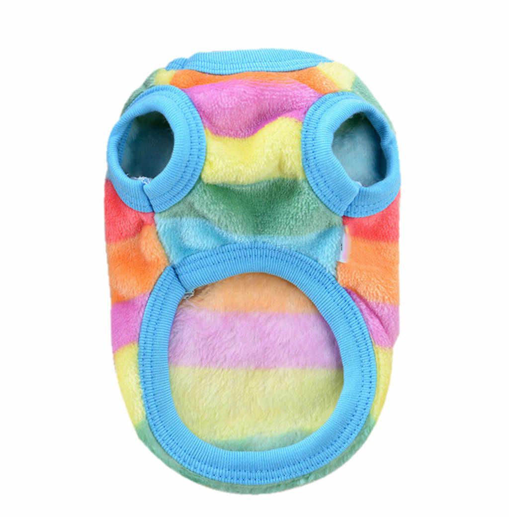 MOLAVE собака одежда зима свитер для собаки Костюмы вельвет для маленьких собак большая собака рубашка щенок теплое пальто наряд L1204