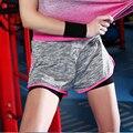 Novas Mulheres Gymming Calções Placa Praia Cintura Alta Aptidão Yogaing Ternos Roupas Para Corridas de Verão Treino Esportivos Secagem rápida Curta