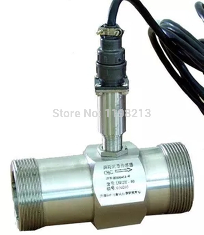 Liquid Turbine Flow Meter Tester Sensor Transmitter LWGY-15 Threaded Connections 5V-12V Flowmeter Counter Indicator DN15 G1