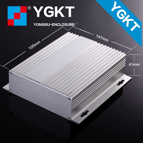 aluminum extrusion box 147*41*100 mm aluminum amplifier case enclosure in good quality high case use well housing case diy hifi amplifier enclosure extrusion aluminum enclosure housing shell box 180 88 250 mm w h l