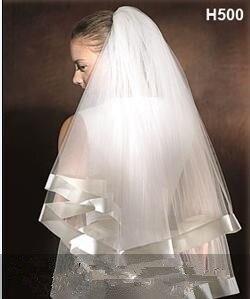 2018 Voile Mariage une couche ivoire Mariage Voile doux Tulle mariée Voile pas cher accessoires de Mariage Veu de Noiva
