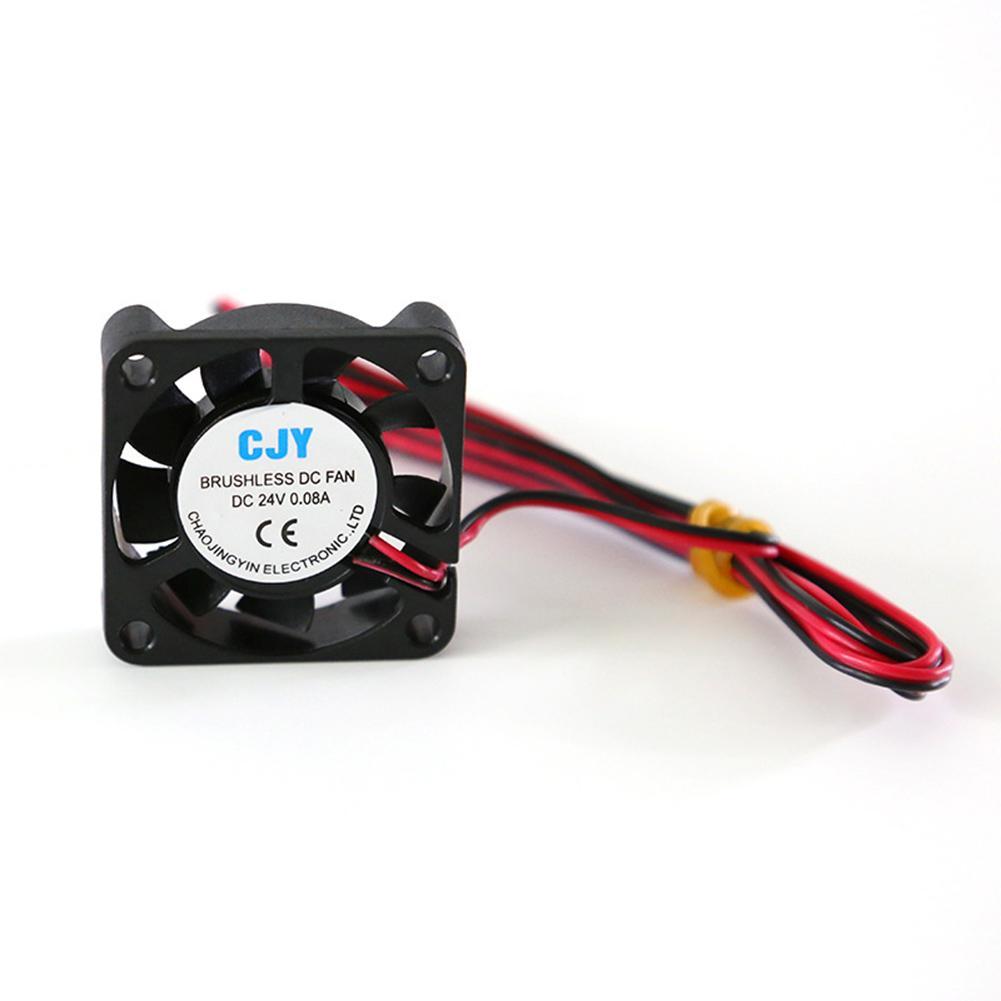 DC 24V 40mm Ultra Silent Cooling Fan Cooler Radiator For 3D Printer Extruder CPU Good Quality