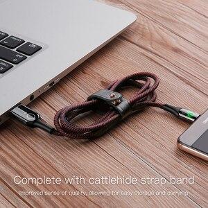 Image 5 - Baseus 3A חכם כיבוי USB סוג C כבל מהיר מטען סוג c כבל עבור סמסונג S10 S9 הערה 10 Oneplus 7 6t 6 USB C USBC כבלים