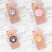 Universal mobile phone bracket Cute 3D Animal airbag Phone socket Expanding Stand  Finger Holder rabbit bear 46345af08880