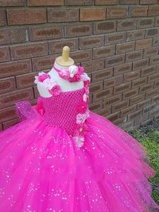 Image 3 - Платье пачка с V образным вырезом, с цветочным принтом