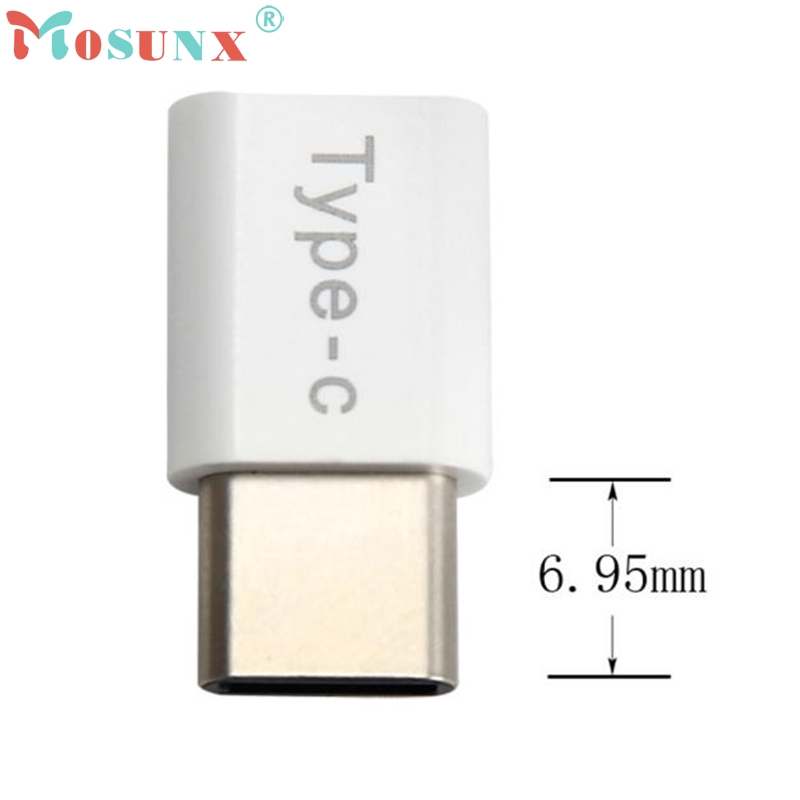 1PC USB-C Type-C To Micro USB Data Charging Adapter For Huawei P9_KXL0220