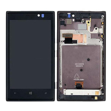 For Nokia Lumia 925 LCD Display with Touch Screen Digitizer Assembly With frame Free Shipping