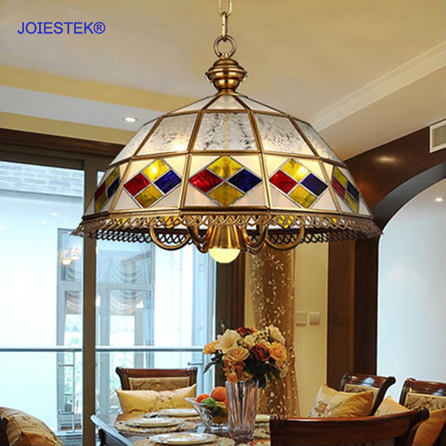 European Style Vanity Light Fixtures Luxury Copper Art Chandelier ...