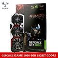 Colorful iGame NVIDIA GeForce GTX 1060 GPU 6 ГБ 192bit Игровой GDDR5 PCI-E X16 3.0 Видеокарта DVI + HDMI + 3 * DP Порт 3 Охлаждения вентилятор