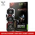 Colorful igame 1060 gpu nvidia geforce gtx 6 gb 192bit jogo GDDR5 PCI-E X16 3.0 Placa Gráfica DVI + HDMI + 3 * Porta DP 3 Refrigeração fã