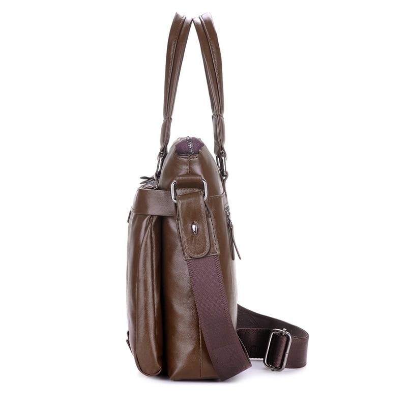 YUES KANGAROO Novi čovjek torbu kožna Business Messenger Bag - Torbe - Foto 5