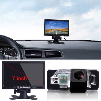 For BMW E70 E71 X1 X5 X6 530i 535Li 335i 328i 320i 330i 520L Car Rear Reverse back Camera and 4.5inch Monitor Display LCD image