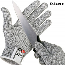 Anti-cut Gloves Cut Proof Stab Resistant Safety Fishing Hunting Gloves Breathable Fish Meat Butcher Cut-Resistant Working Glove 1pair new arrival 100% kevlar working protective gloves cut resistant anti abrasion safety gloves cut resistant anti cut gloves