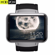 MODOSON DM98 Smart Watch 2.2 inch Android OS 3G Smartwatch Phone MTK6572 Dual Core 512MB RAM 4GB ROM Camera Bluetooth WCDMA GPS(China)